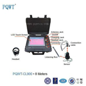 Pqwt-Cl900 High Accuracy Underground Metal and Plastic Pipe Leakage Locator 8m pictures & photos