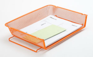 Letter Tray/ Metal Mesh Stationery File Tray/ Office Desk Accessories pictures & photos
