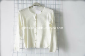 White Long Sleeve Cardigan for Women pictures & photos
