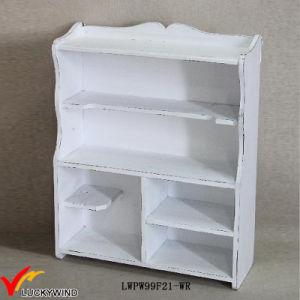 Vintage Shelving Ideas Antique White Wooden Shelf pictures & photos