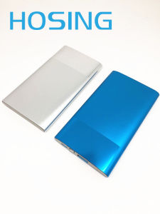 Metal Shell 6000mAh Ultra Thin Power Bank with Polymer Battery pictures & photos