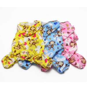 Pet Products Cartoon Waterproof Dog Raincoat with Four Legs pictures & photos