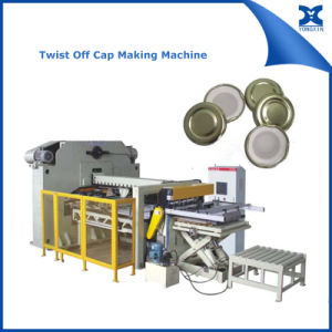 Glass Bottle Jar Twist off Cap Lid End Making Machine pictures & photos
