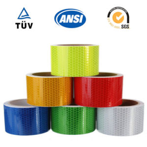 """2""""X10′ Silver White Color Reflective Safety Warning Conspicuity Tape Sticker pictures & photos"""