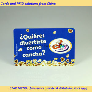 Theatre Loyalty Card Made of PVC with Magnetic Stripe (ISO 7811) pictures & photos