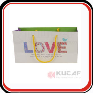 Popular Design Customizable Offset Printing Gift Paper Bag pictures & photos
