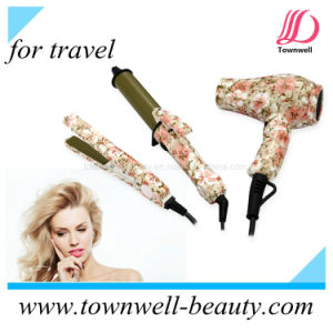 Mini Sets Tourmaline Hair Straightener for Travelling with LED Indicator pictures & photos