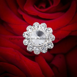 Embellishment Flower Bridal Bouquet Jewelry Accessories Fashion Crystal Rhinestone Brooch Pin for Wedding Bouquet pictures & photos