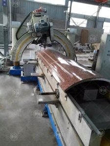 Automatic Processing Roman Pillar Slot Stone Cutting Machinery pictures & photos