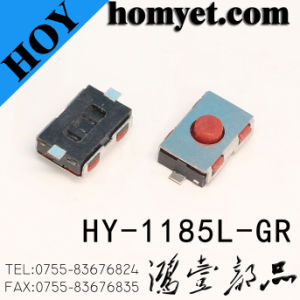 SMD Type Contact Tact Switch with Red Handle pictures & photos