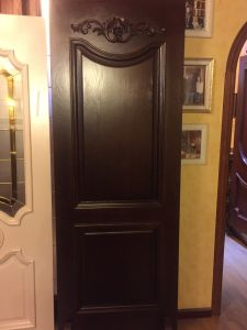 Solid Wood Door (DS-827) pictures & photos