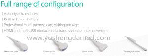 Medical Equipment Digital Ultrasound 3D/4D Color Doppler Ultrasound pictures & photos