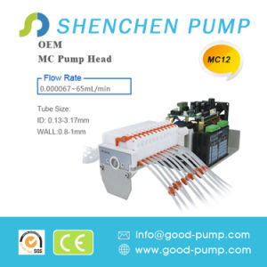 Mc12 Stepper Motor 0.0046-65ml/Min Mini Peristaltic Pump pictures & photos