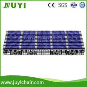 Temporary Grandstand Dismountable Bleacher Outdoor Bleacher for Football Court Jy-715 pictures & photos