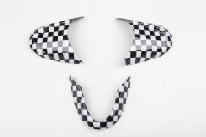 Mini Checker Style No-Multifunctional Steering Wheel Cover for Mini One
