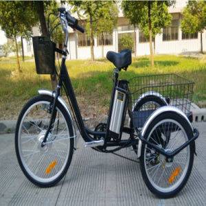 24inch Big Wheel Older Men Electric Tricycle pictures & photos