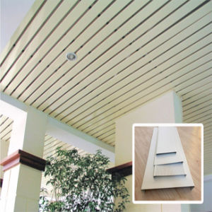 Building Material Aluminum Strip Ceiling Tile with Factory Price pictures & photos
