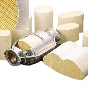 Cordierite Honeycomb Ceramic Monolith Catalytic Converter Substrate pictures & photos