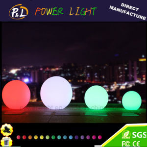 D50cm Colorful Waterproof Plastic LED Pool Ball pictures & photos