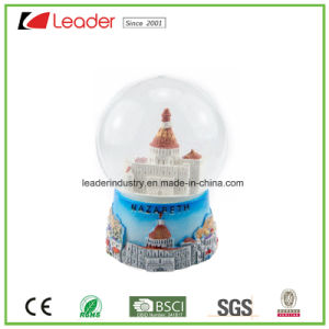 Polyresin Craft Snow Globe with Beach for Home Decoration and Souvenir Gift pictures & photos