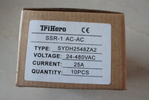 100A AC/AC Single Phase Solid State Relay SSR, AC Solid State Relay pictures & photos