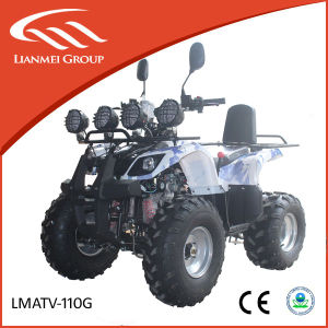 Cheap ATV for Sale 110cc ATV Gasoline ATV Lianmei ATV pictures & photos