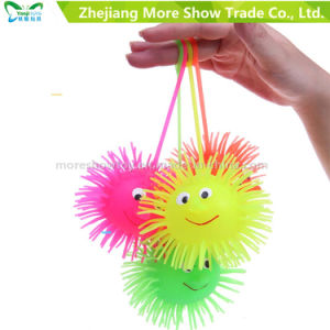 Novelty Multicolor Puffer Yoyo Light up Ball Toys pictures & photos