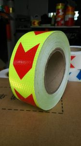 Hot Sale Best Quality Durable Use Arrow Reflective Tape pictures & photos