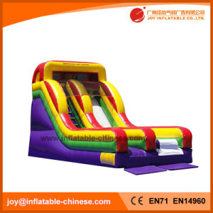 Outdoor Playground Kid Play Equipment inflatable Jumping Bouncy Slide (T4-206) pictures & photos