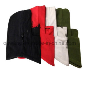Multifunction Custom Logo Polar Fleece Beanies Hats Winter Snow Balaclava Hood pictures & photos