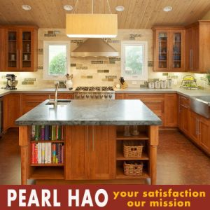 Latest Hot Sale Solid Wood Kitchen Cabinet pictures & photos