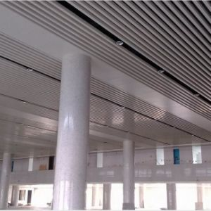 Aluminum Roll Formed Baffle Strip Ceiling with High Quality Fashion Design pictures & photos