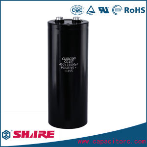Aluminum Eelctrolytic Capacitor 100V 4700UF with Mounting Frame pictures & photos