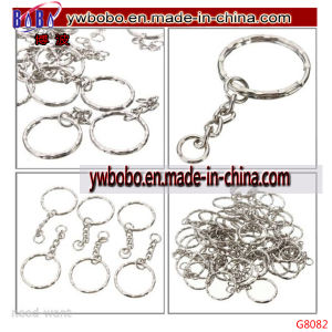 Promotional Keyring Blanks Key Chains Silver Promotion Keychain (G8082) pictures & photos