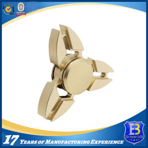 Tri-Spinner Brass Fidget Toy Metal Finger Spinner pictures & photos
