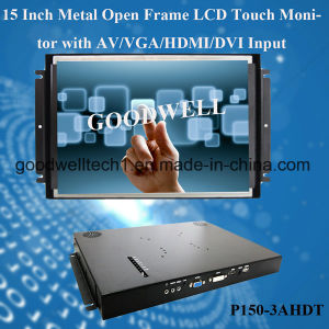 "Metal Open Frame 15"" LCD Monitor pictures & photos"