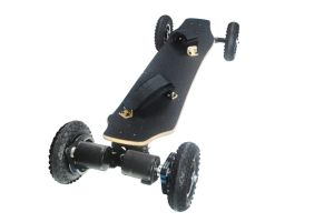 Hot Sale Four Wheels Standing Powerful 1650X2w Electric Skateboard pictures & photos