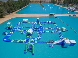 Factory Price Inflatable Floating Water Park Inflatable Island for Sale pictures & photos