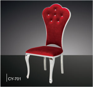 luxury special design stainless steel hotel dining chairs - Stainless Steel Hotel Design