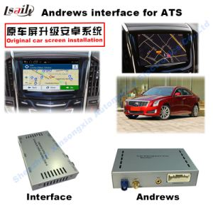 Car Video Interface for Cadillac Cue System ATS Xts Cts Srx Xt5 etc, Android Navigation Rear and 360 Panorama Optional pictures & photos