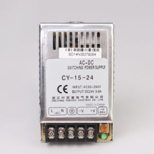 Single Output Power Supply 15W 3A 220VAC to 5VDC Converter SMPS Cy-15 pictures & photos