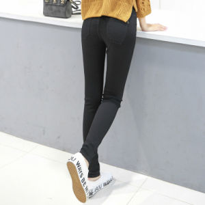 New Fashion High Waist Slim Fit Jeans for Women pictures & photos