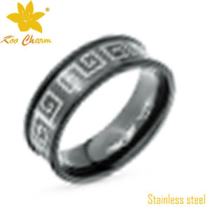 Str-047 Hot Sale Rose Gold Stainless Steel Ring pictures & photos