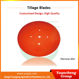 Yuancheng Agricultural Machinery Parts Notched Harrow Disc pictures & photos