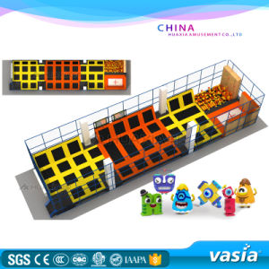 Vasia Jumping Outdoor Trampoline Park Design and Planning pictures & photos