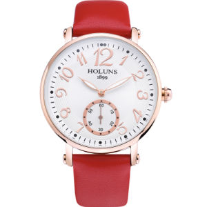 2016 Fashion Big Dial Waterproof Quartz Casual Women Watch, Sapphire Stainless Steel Special Love Gift for Girl Lady pictures & photos