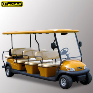 Cheap 11 Passengers Electric Sightseeing Car for Sale pictures & photos