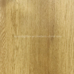 Wearable Indoor Oak Basketball PVC Vinyl Flooring Roll Wood Pattern 6.5mm pictures & photos