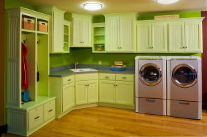 Home Kitchen Furniture Modern Style Solid Wood Kitchen Cabinets pictures & photos