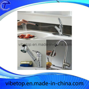 Wholesale Stainless Steel Single Handle Kitchen Sink Faucet (KF-01) pictures & photos
